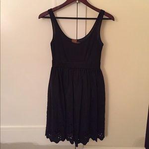 Ali Ro silk and cotton tank dress 0